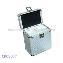 Lindo CD caso de 80 CD discos aluminio por mayor de China fabricante