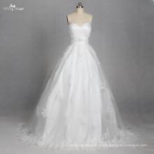 LZ179 милая кружева аппликация кружева свадебное платье vestido де noiva