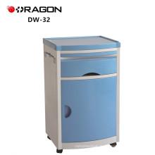 DW-32 chevet armoire hôpital ABS médical table de lit avec tiroir