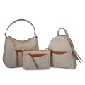 Legend Shopper Handtasche Cabrio Hobo Bag Beige