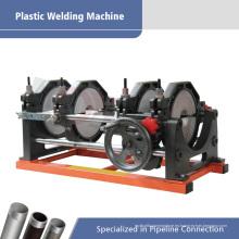 Máquina hidráulica del tubo de la soldadura a tope del tubo del HDPE del tubo de 63-160m m para juntar caliente PE tubos del HDPE de PVDF del PE
