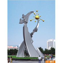 2016 New Artistic Symbol Grand City Art Stainless Steel Sculpture