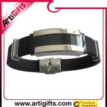 Free samples germanium stainless steel bracelet