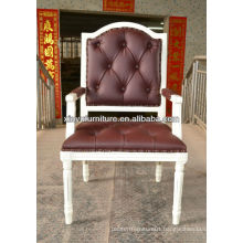 French vintage upholstered antique armchair XY0634