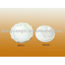 Factory direct wholesale porcelain divided tray