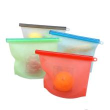 Eco-friendly stasher reusable silicone food storage bag