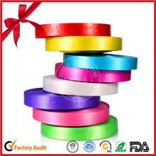 Custom Printed Satin Ribbon Polyester Ribbon Roll