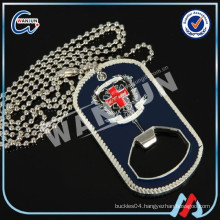 military Bottle opener dog tag