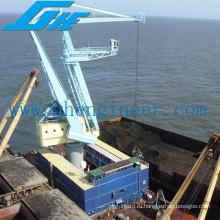 Палубный кран для разгрузки судов