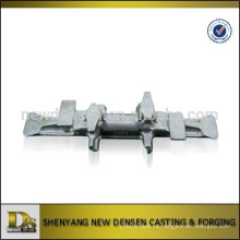 OEM de fundición de alta calidad y forja núcleo de metal núcleo de hierro para las pistas de goma
