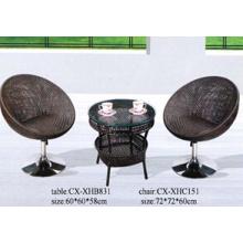 Establece 2016 venta caliente rota, tabla de la rota y silla, muebles de la rota de la puerta