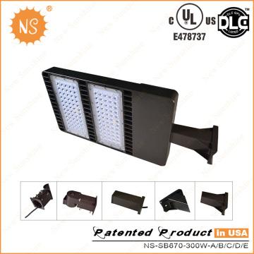 UL (478737) Dlc IP65 300W luz da caixa de sapatos LED