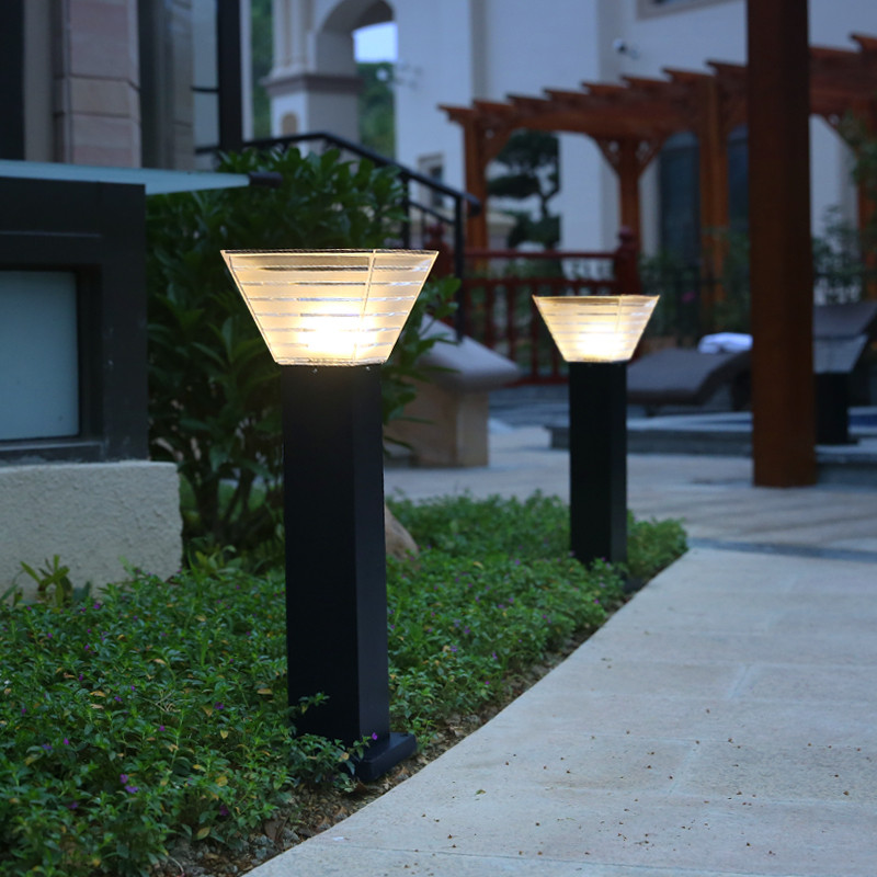 All-weather solar spotlights for parks