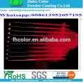 electrostatic spray Metallic red pearl powder coating
