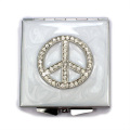 Peace Compact Mirrors