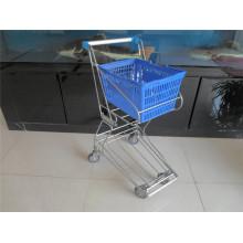 Shopping Basket, Trolley Metal Basket Cart (YRD-J4)