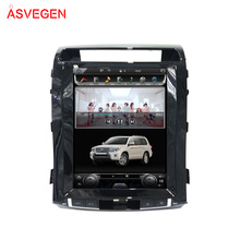 Tesla Screen Car Radio Car DVD Player with Android GPS Navigation WIFIi For Toyota Land Cruiser 2008-2015