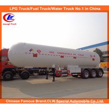 60m3 Cooking Gas Tank Semi-Trailer for 30ton LPG Delivery Tank