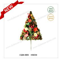 Nuevo diseño de plástico de Navidad decoración H50cm flor artificial