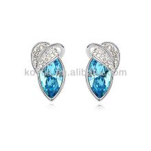 Bijoux fantaisie vintage bijoux en cristal aquamarine