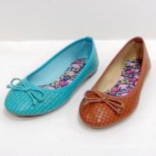 2014 мода горячая продажа красивая мягкая единственная плоская обувь женщины