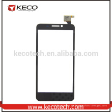 Negro originales pantalla táctil digitalizador para Alcatel One Touch Idol OT6030 teléfono pantalla