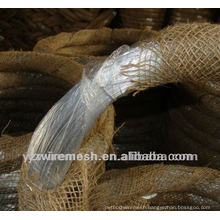 low price enough weight electro galvanized iron wire factory