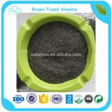 Micropolvo de alúmina fundida marrón BFA para abrasivos