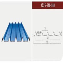 Цветной стальной лист / гофрированный стальной лист / кровельный лист (XGZ-21)