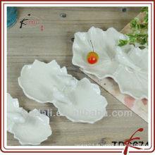 Mode Form & Keramik Blatt Form Platte
