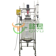 200L jacketed glass reactor