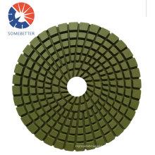 100mm Metal Segments Diamond Polishing Pad for Concrete