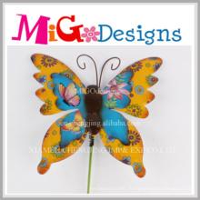 Décoration murale en métal papillon agréable pour la décoration