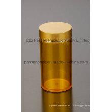 Vazio Amber plástico recipiente médico para comprimidos (PPC-PETM-009)
