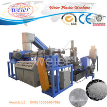 Ce SGS ISO Waste Plastic Pellets PE PP HDPE Film Recycling Pelletizing Extruder