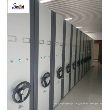 Mobile shelf system, steel mobile shelving filing cabinet, full knocked down disassemble metal mobile filing cabinet