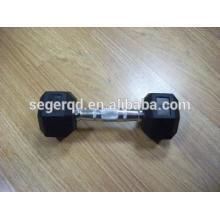 HEX Kurzhanteln mit schwarzer oder farbiger Gummierung