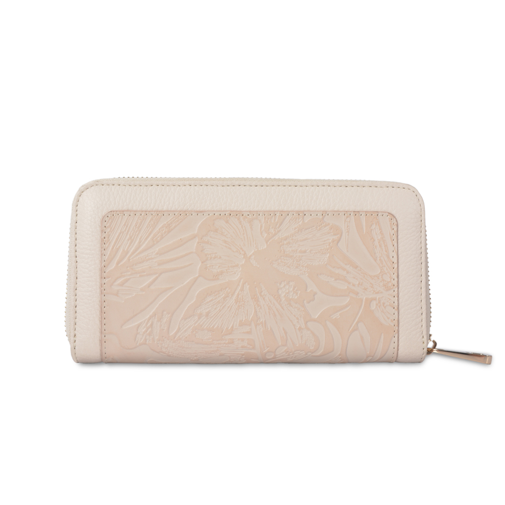 Suede Leather Lady Wallet Leather Women