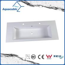 High Quality Rectangular Polymarble Vanity Sink Acb1209