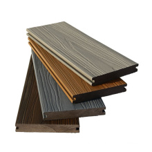 3D Embossed Wood Grain Decking Board Outdoor Composite Wooden Flooring Co-Extrusion WPC Decking