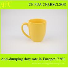 Ceramic Stoneware Unicolor Blank Coffee Mugs