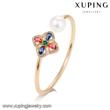 51747 Xuping jewelry wholesale fashion Woman bangles with 18K Gold Plated