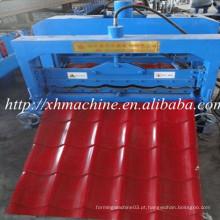 Máquina formadora de rolo de folha de telhado de azulejos revestidos