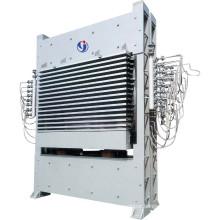 Multi-layer laminating hot press machine for plywood