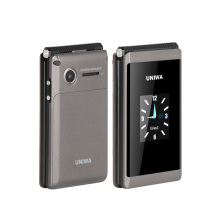 UNIWA X28 2.8 Inch Dual Screen SOS Function Long Standby Time Unlocked  Big Button Big Font  Flip phone