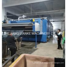 Máquina de secagem de tingimento têxtil