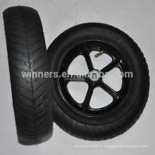 Roue large en plastique pneumatique de haute qualité 12.5 x 3