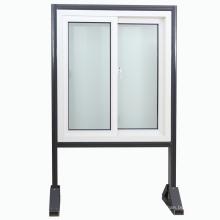 Customized UPVC/PVC Profile Plastic Window/Sliding Window with Mosquito Net