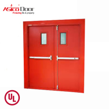 ASICO KH043 China Emergency Exit Steel Metal Door With Panic Push Bar Exterior