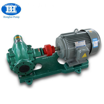 Electric fuel oil transfer gear pump